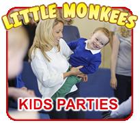 Little Monkees Kids Parties